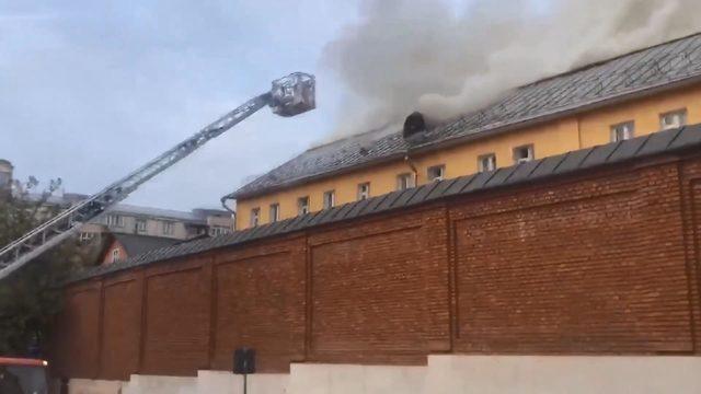 Rusya'da kadın manastırında yangın