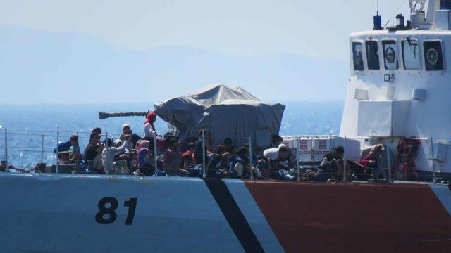 Çanakkale'de 239 kaçak göçmen yakalandı