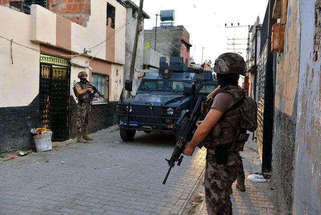 Adana'da şafakta DEAŞ operasyonu