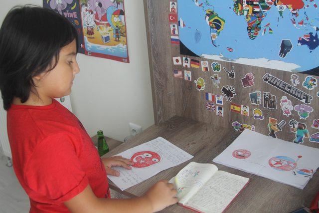 11 yaşında kitap yazdı, yayımlamak istiyor