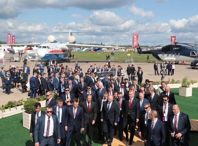 Erdoğan: Savunma, havacılık ve uzay teknolojilerinde söz sahibi oluyoruz (4)