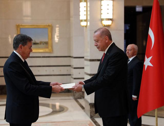 ABD Büyükelçisi, Erdoğan'a güven mektubu sundu