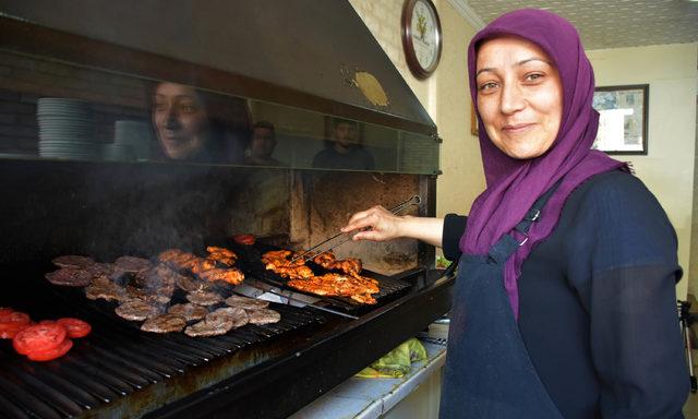 Köfteci Nezahat Usta, Sivas'ta bir ilk oldu
