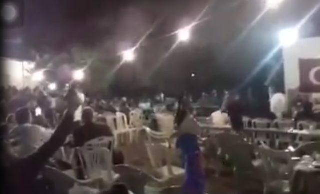 Düğün magandaları korkuttu