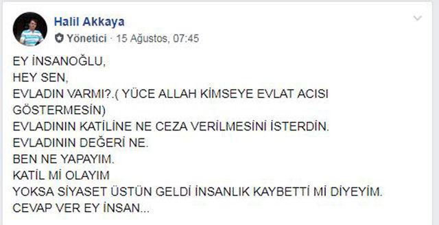 İrem Su'nun ailesinden 'Adalet istiyoruz' sayfası