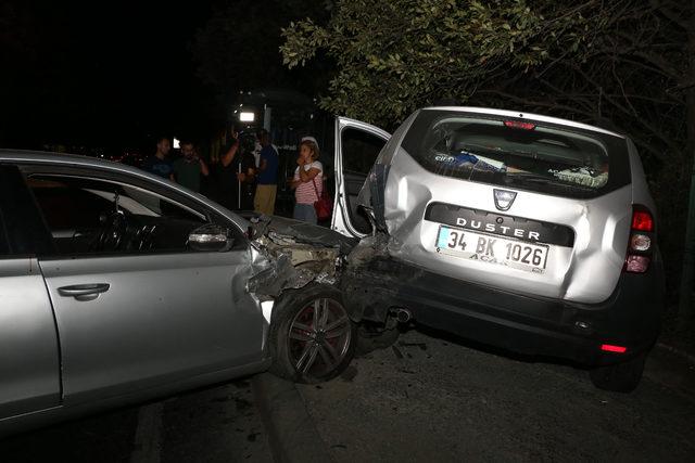 Sarıyer'de kaza: 2 yaralı