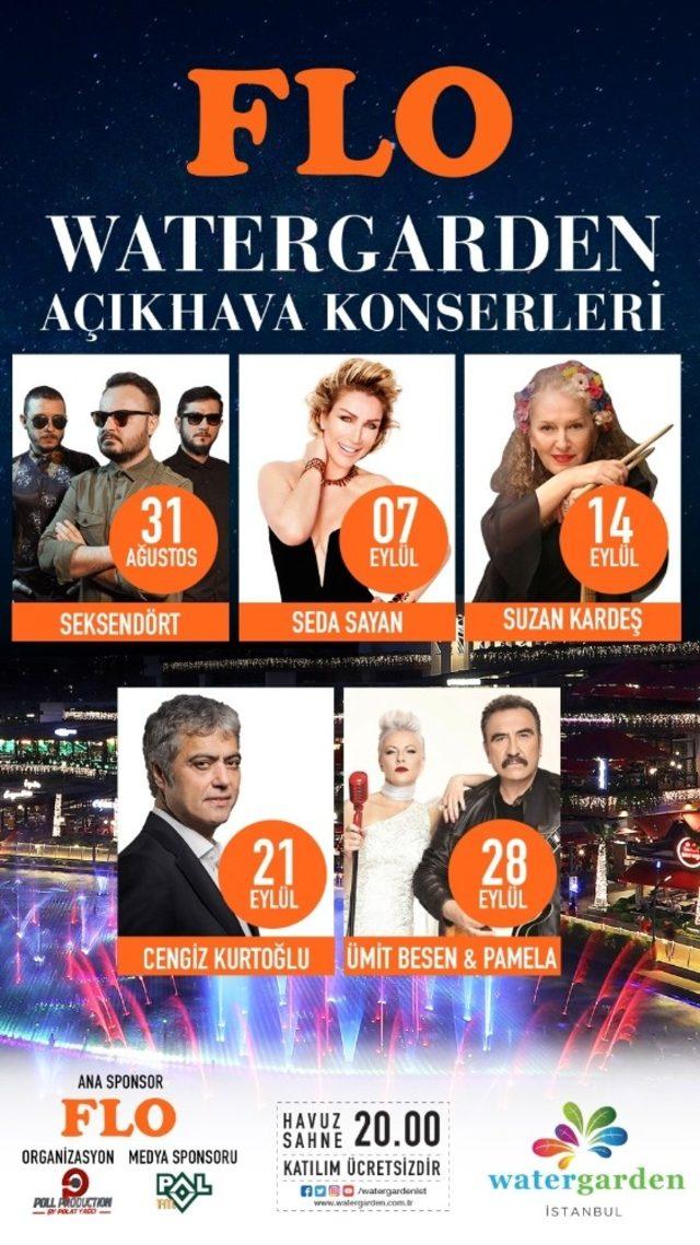 Ataşehir'de açık hava konserleri başlıyor