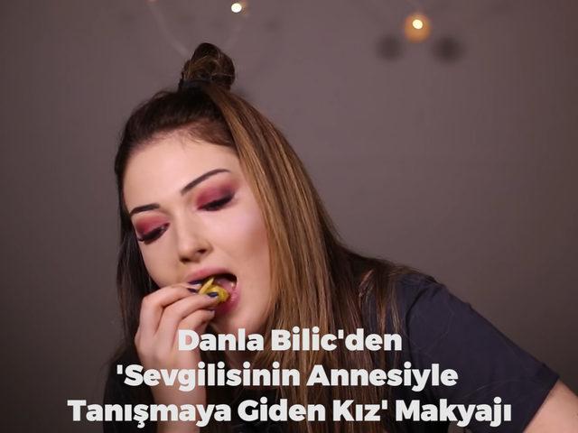 Danla Bilic'den Sevgilisinin Annesiyle Tanışmaya Giden Kız Makyajı