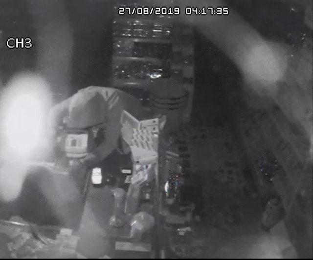 Market soyan Gürcü hırsızlık şüphelileri yakalandı
