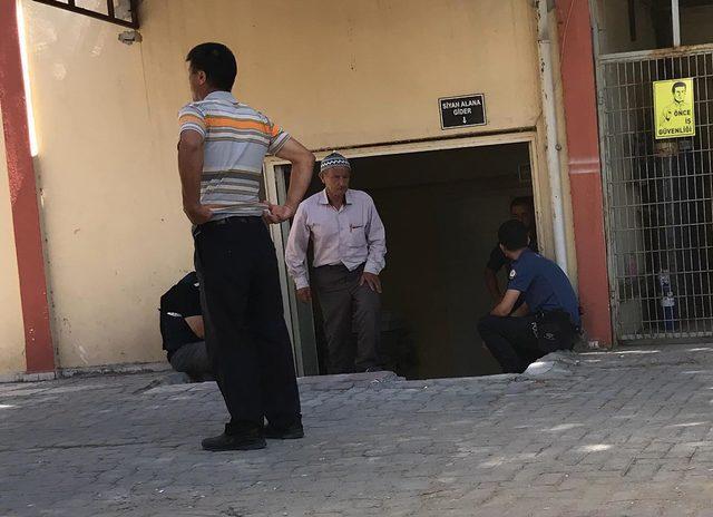 Jandarmada ifade verirken kalp krizinden öldü
