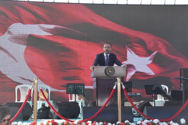 Bakan Kasapoğlu: Milli mücadelemiz asla bitmiş değildir