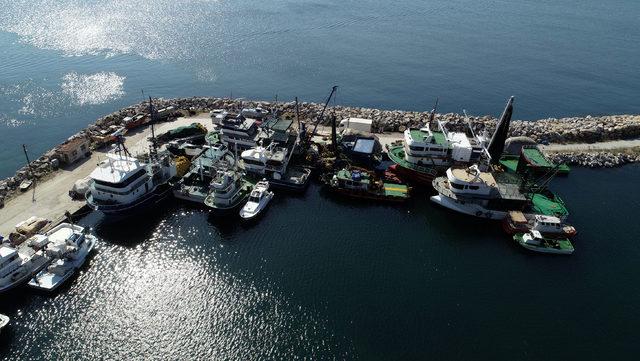 Çanakkaleli balıkçılar av sezonuna hazır