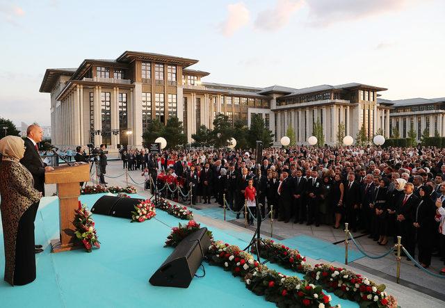 Erdoğan: İstiklalimize yönelen tehditlere tahammülümüz olamaz
