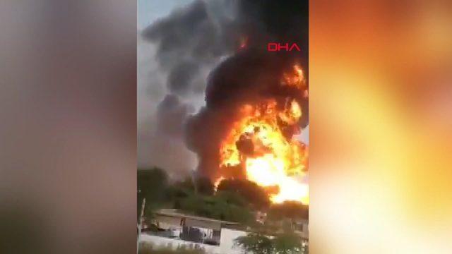 Hindistan'da kimya fabrikasında yangın: 10 ölü (2)
