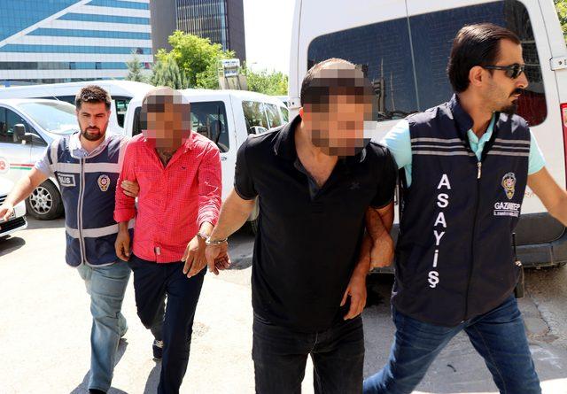 Gaziantep'te 3 hırsızlık şüphelisi yakalandı