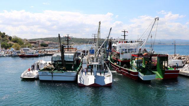 Çanakkaleli balıkçılardan dualı, kurbanlı av sezonu açılışı