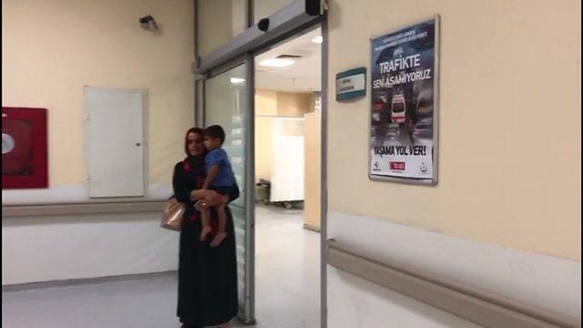 Ateşlenen çocuğa müşahede odasında müdahale edilmemesi görüntülerine soruşturma