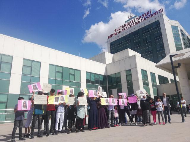 Sultangazi'de boynuna makas saplanan Küçük Ezel için eylem