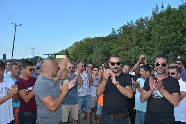 Hamsilos için tepki yürüyüşü