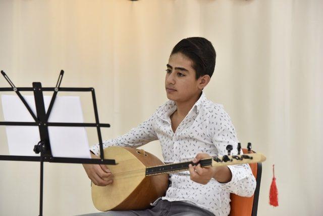 Geleceğin sanatçıları Altındağ'da yetişiyor