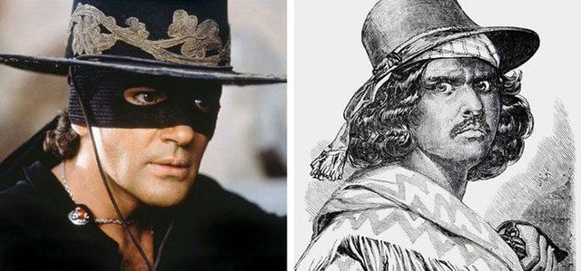 Joaquin Murrieta, Zorro