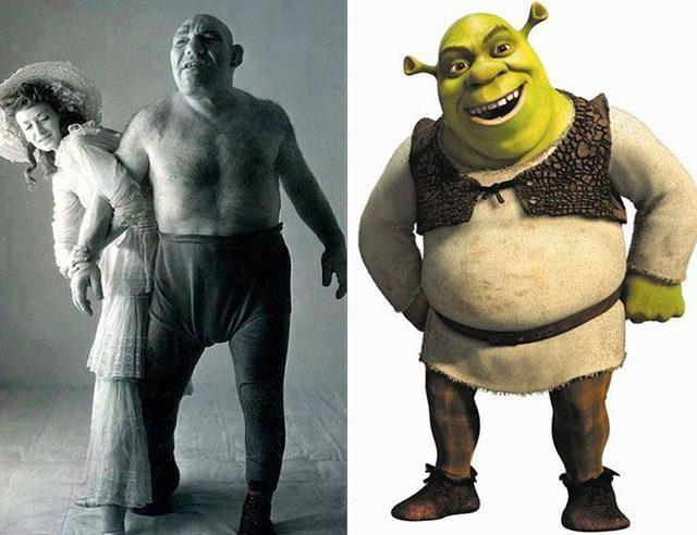 Maurice Tillet, Shrek