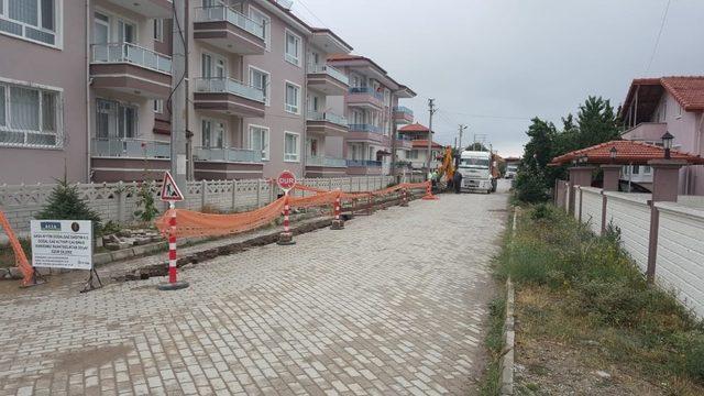 Şuhut'ta doğal gaz çalışmaları yeniden başladı