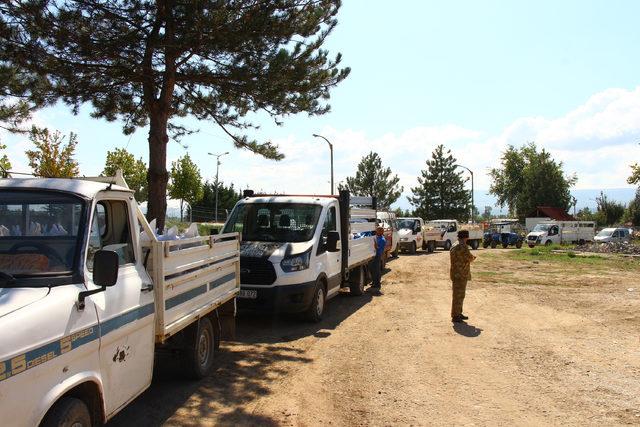 TMO, Erbaa'da fındık alımına başladı