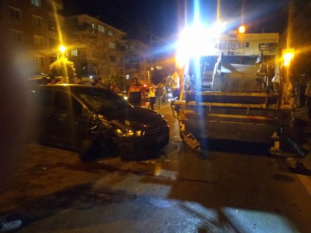 Kazada ölen temizlik işçisi, gözyaşlarıya toprağa verildi