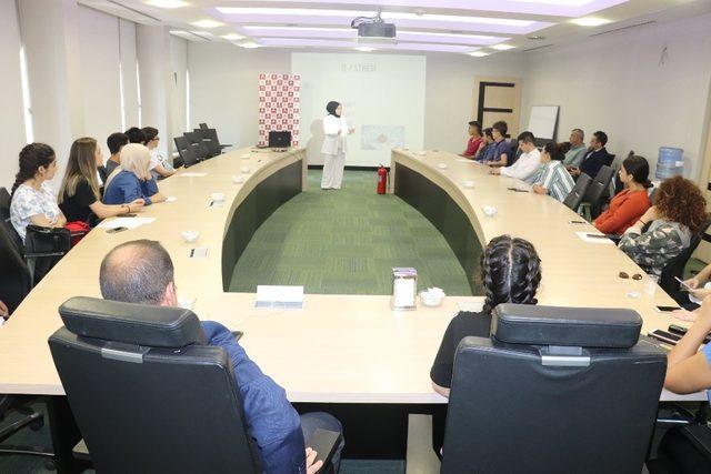 Doruk'tan UEDAŞ personeline stres semineri