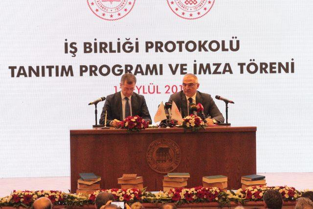 Eğitimi sınıf dışına taşıyacak protokol imzalandı