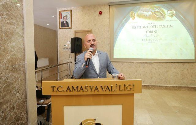 Amasya'nın hayali 5 yıldızlı otel projesini Amasya İl Özel İdaresi hayata geçiriyor