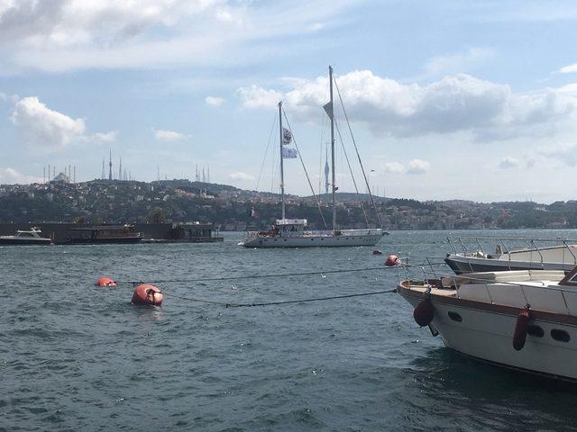 Plastik kirliliğine karşı yola çıkan Blue Panda İstanbul'da