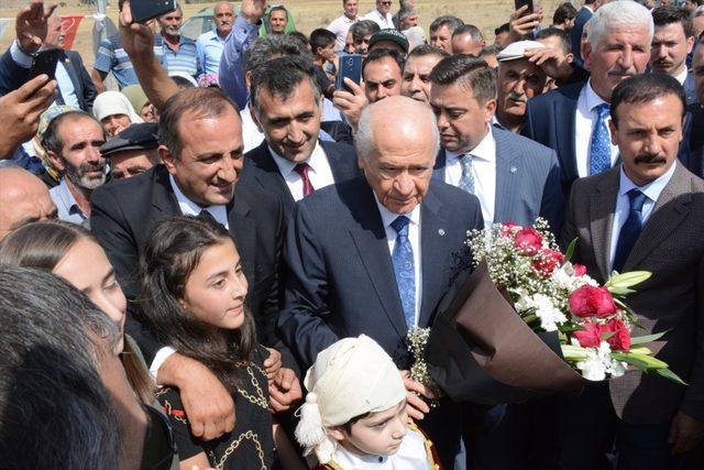 MHP Genel Başkanı Devlet Bahçeli, Gümüşhane'de