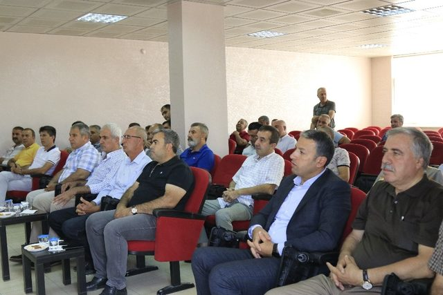 DTSO yönetimi, Gıda Toptancılar Sitesi esnafıyla bir araya geldi