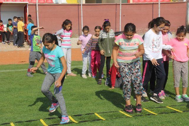 Minik sporcular, Türkiye Şampiyonası'na hazırlanıyor