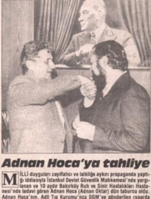 Milliyet gazetesinde yayımlanan haber