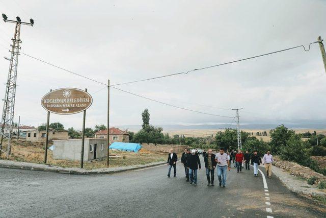 Başkan Çolakbayrakdar, Barsama Mesire Alanında