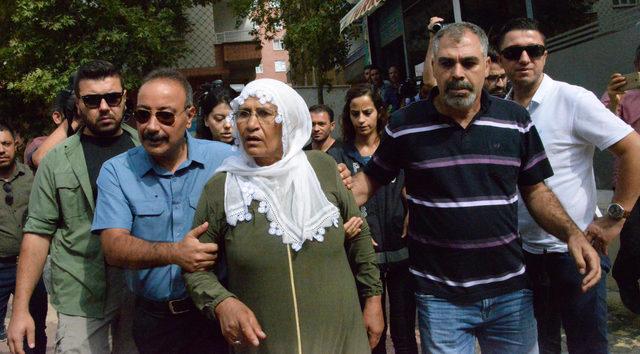 HDP önündeki eylemde 14'üncü gün; aile sayısı 35 oldu