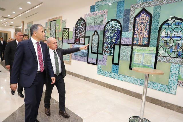 Vali Yerlikaya, Büyükçekmece Belediyesi'ni ziyaret etti