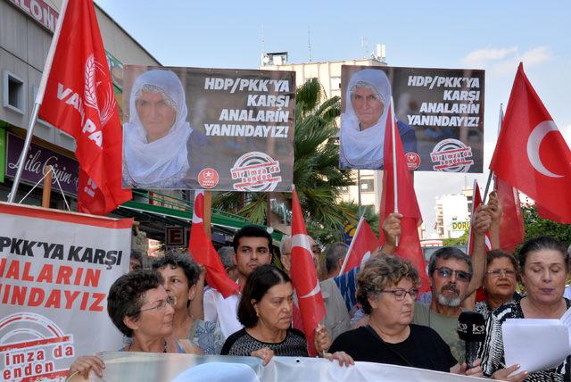Mersin Diyarbakır'da Eylem Yapan Ailelere Mersin'den Destek ile ilgili görsel sonucu