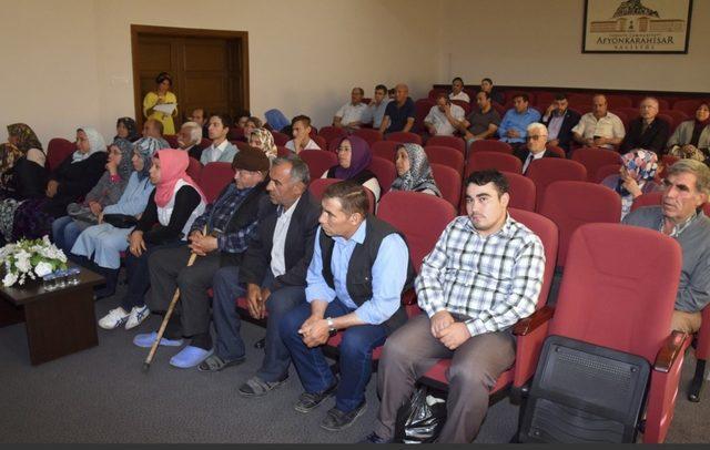 Eylül Ayı Halk Günü Toplantısı yapıldı