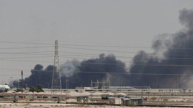 Suudi Arabistan'ın petrol sahalarına saldırı düzenlendi
