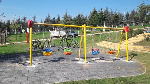 Körfez'de parklara oyun grubu kuruluyor