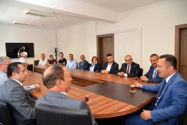 Ahilik Haftası Kutlama Komitesi'nden Vali Şentürk'e ziyaret