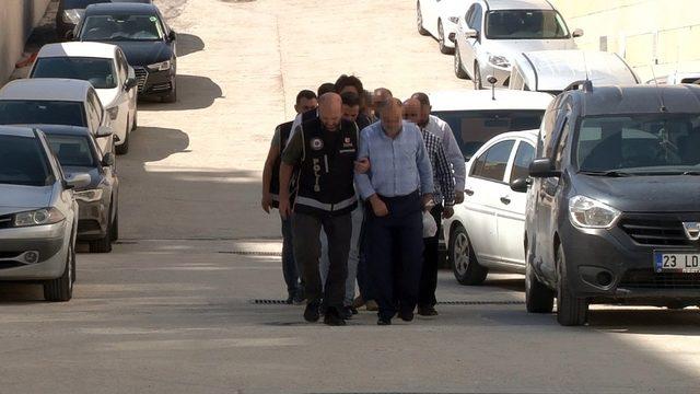 Elazığ'daki tefeci operasyonu: 5 şüpheli adliyeye sevk edildi
