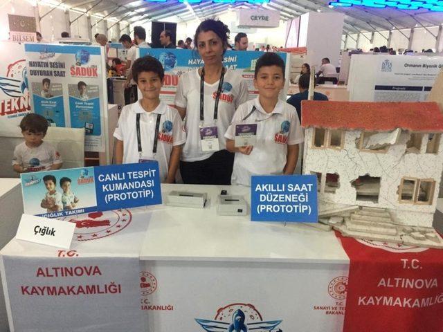 Altınovalı öğrenciler Yalova'nın gururu oldu