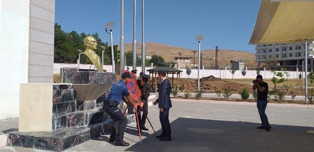 Kozluk'ta Gaziler Günü etkinliği