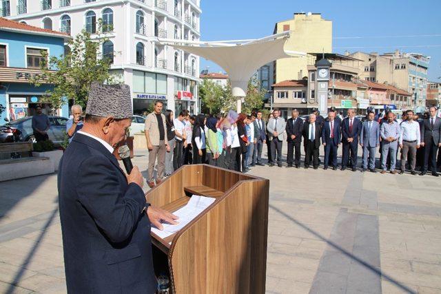 Sındırgı'da 19 Eylül Gaziler günü kutlandı