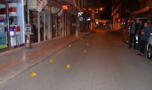 Mahalle sakinleri silah sesleriyle uyandı